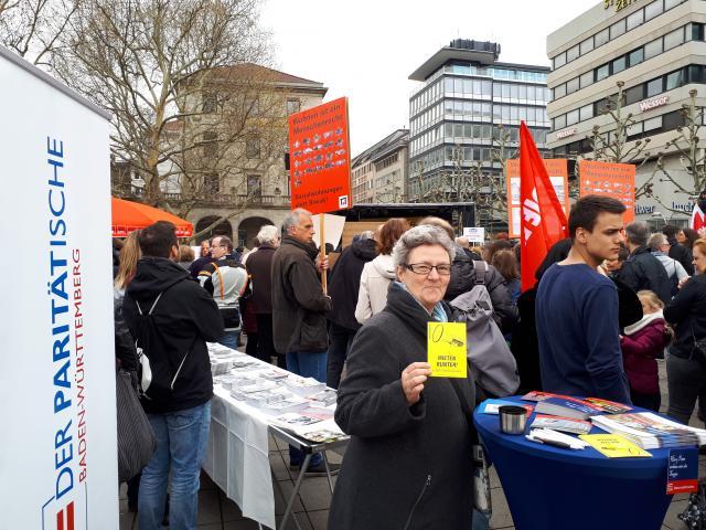 PARITÄTISCHER Kreisverband engagiert sich gegen Mietenwahnsinn in Stuttgart