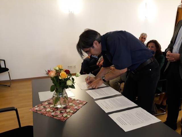 Gründung Regionalverbund Südbaden und Verabschiedung Pia-Maria Federer