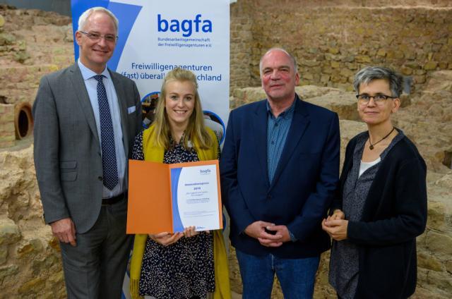 Freiwilligenagentur Heidelberg mit Innovationspreis ausgezeichnet