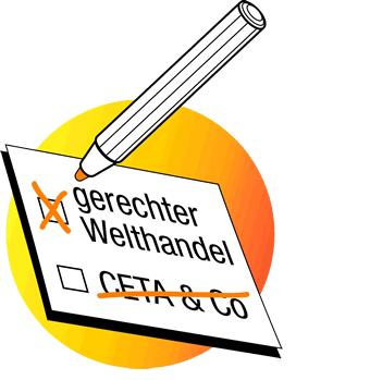 CETA-Aktionstag zur Bundestagswahl am 9. September 2017