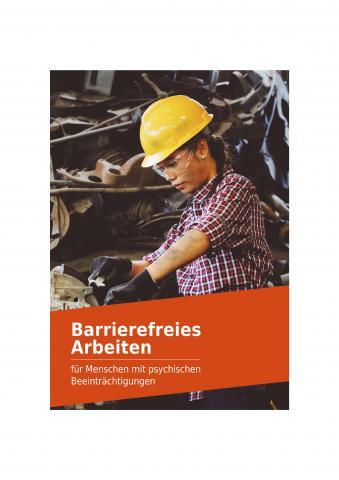 Broschüre - Barrierefreies Arbeiten