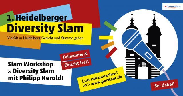 1. Heidelberger Diversity Slam - Vielfalt in Heidelberg Gesicht und Stimme geben