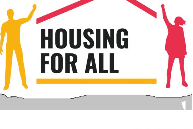 Unterschreibe jetzt: Housing for All