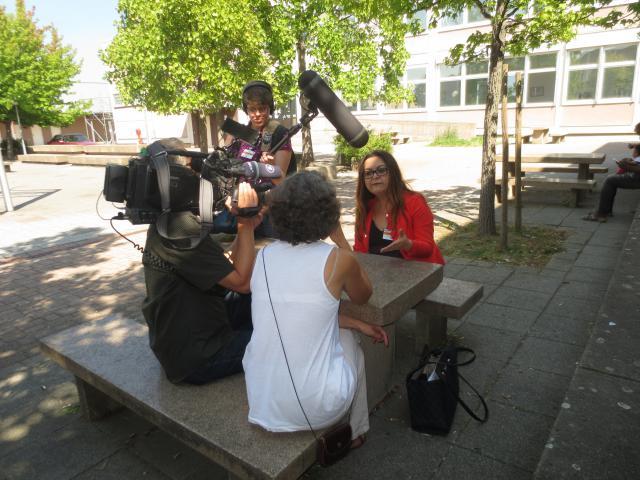 Situation von Flüchtlingen in der Erstaufnahme Politik im Gespräch mit Bewohner/n/innen aus der BEA in Mannheim