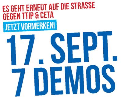 Aufruf zur Busmobilisierung: CETA & TTIP stoppen am 17.09.2016
