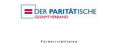 """Erweiterung der Förderrichtlinie """"Neue Wege in der Altenhilfe"""""""
