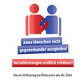 Aufruf: Arme Menschen nicht gegeneinander ausspielen – Sozialleistungen endlich erhöhen