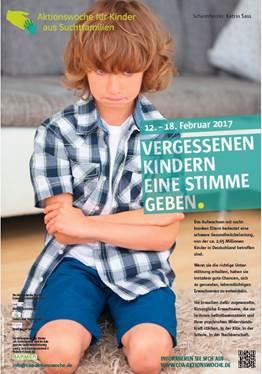 Aktionswoche für Kinder aus Suchtfamilien 2017_ Poster und Flyer jetzt bestellen!
