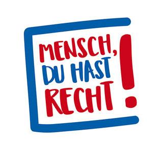 """Jahreskampagne des Paritätischen: """"Mensch, Du hast Recht!"""""""